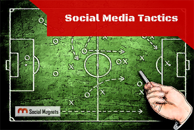 Social Media Tactics of Marketers Across the Web - Social Magnets