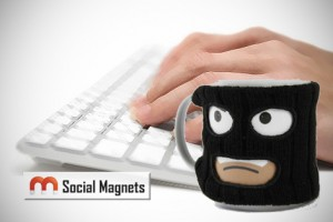 Stop Social Media Mugging People - Social Magnets