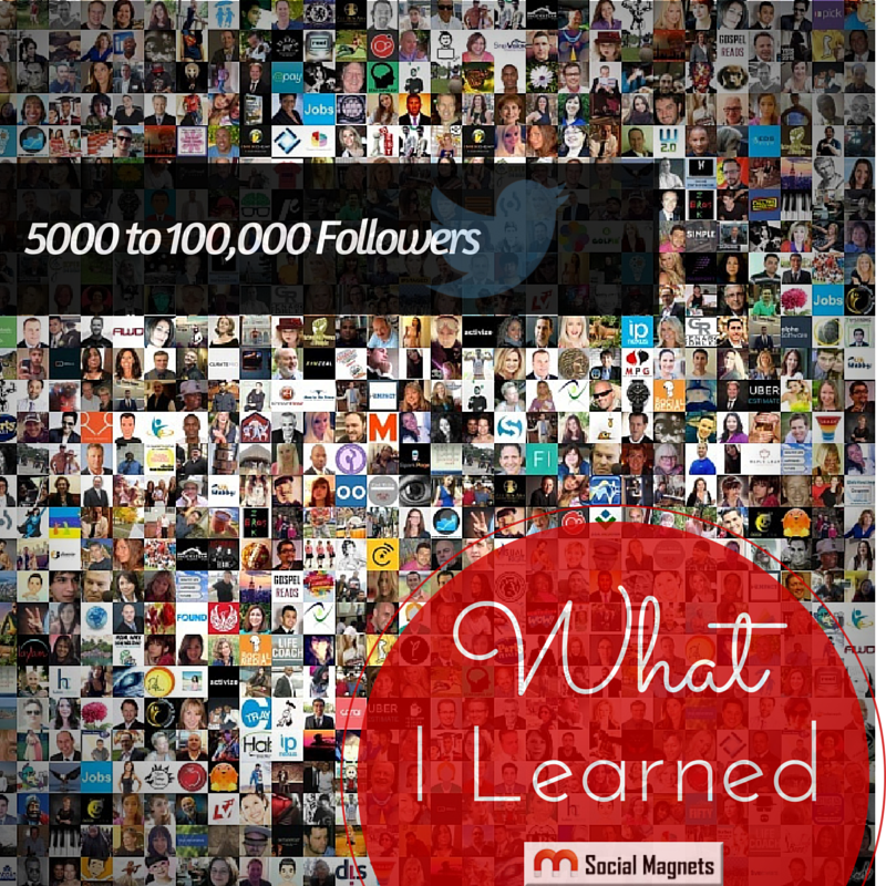 Photo of From 5000 to 100000 Followers on Twitter – What I learned